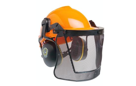 575e3c6c134d3 Kit Florestal Conjunto Para Proteção da Cabeça, Facial e Auditiva